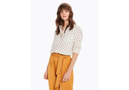 Maison Scotch Printed Cotton Blend Shirt