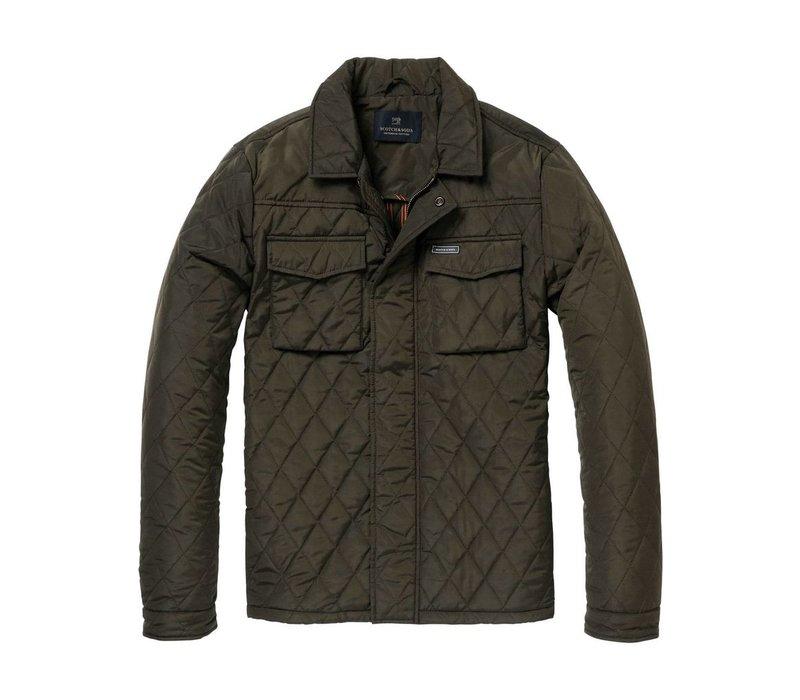 Gesteppte Shirt-Jacke