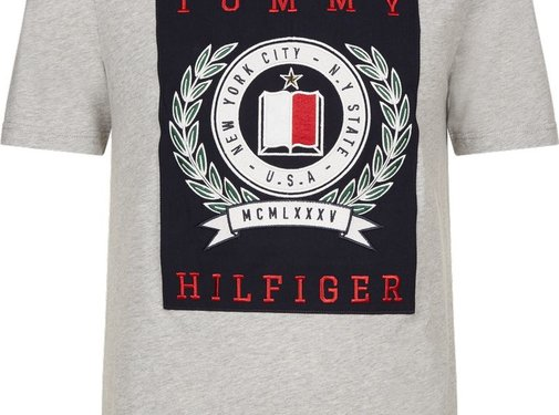 Tommy Hilfiger PATCH FASHION FIT TEE