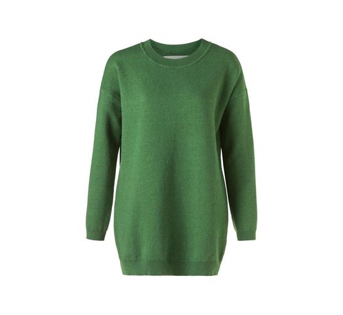 YAYA Long oversized cotton sweater