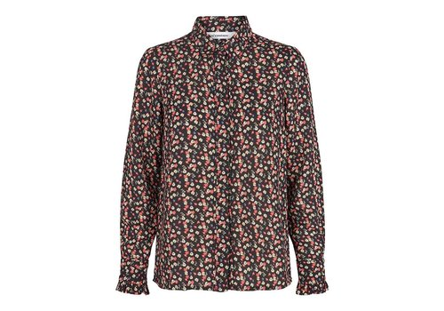 Co'Couture Pernille Flower Frill Shirt