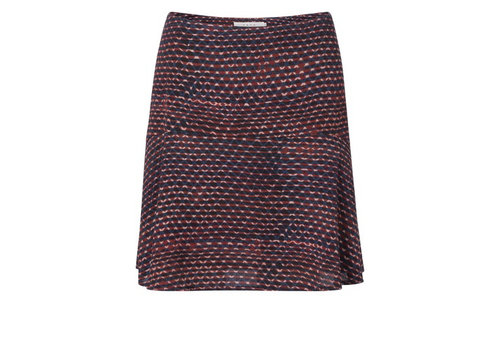 YAYA Flowy Skirt with allover fantasy print