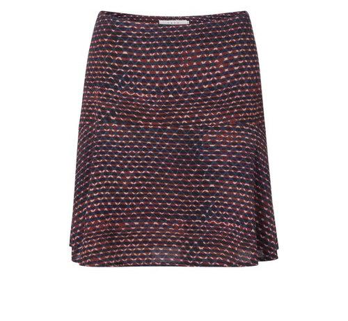 YAYA Flowy Skirt with allover fantasy print