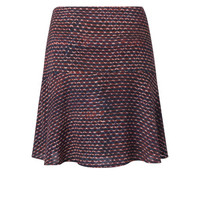 Flowy Skirt with allover fantasy print