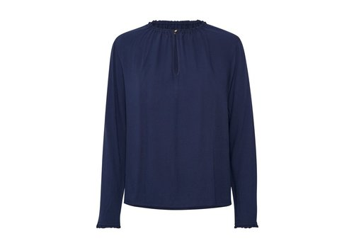 Soaked In Luxury Corinna Blouse LS