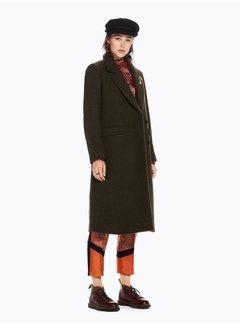 Scotch & Soda Long Wool Coat