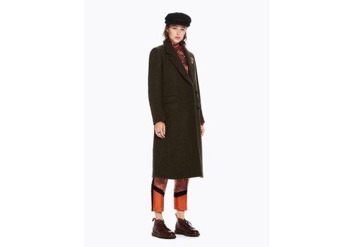 Maison Scotch Long Wool Coat