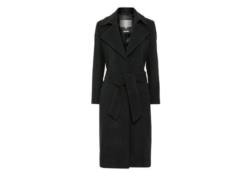 InWear Sai Abrigo de lana con cinturón