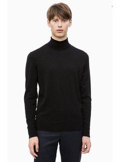 Calvin Klein Superior Wool Turtleneck Jumper
