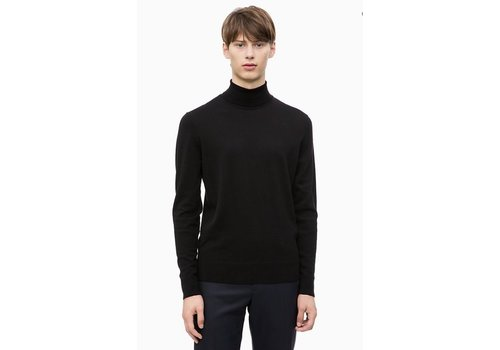 Calvin Klein Superior Wool Turtleneck Jumper