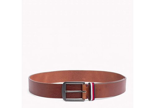 Tommy Hilfiger LEATHER JEANS BELTTOM