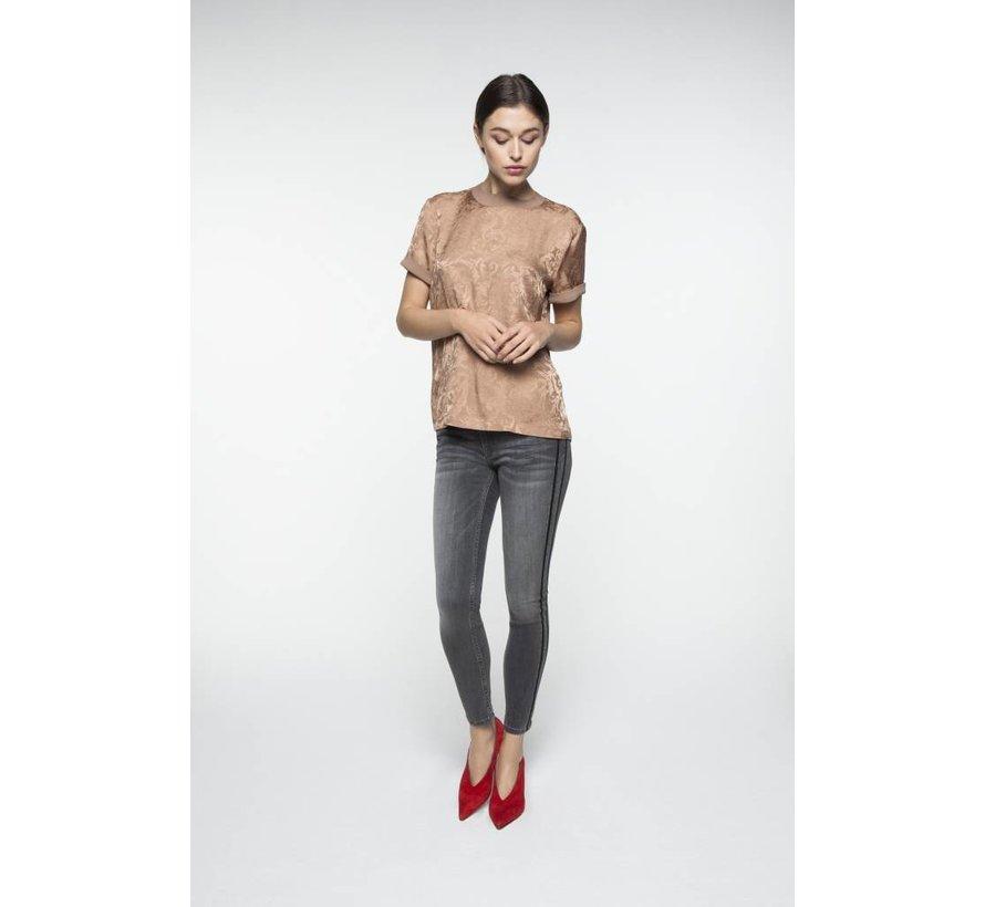 Fancy 5-pocket skinny jeans in vintag