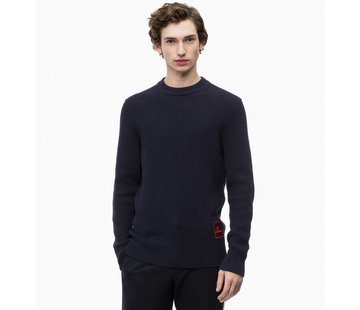 Calvin Klein Structured cotton sweater
