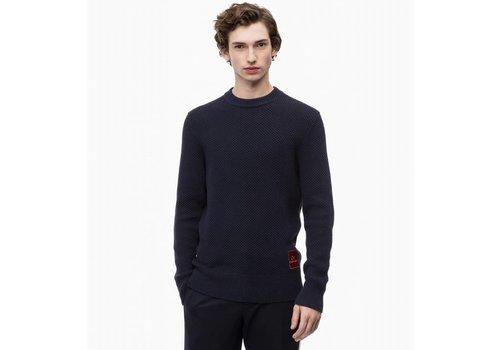 Calvin Klein Structured cotton sweater
