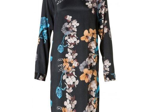 YAYA Dress with round neckline
