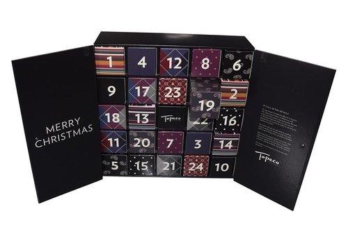 Topeco Socks 12P, Cotton XM-Calendar