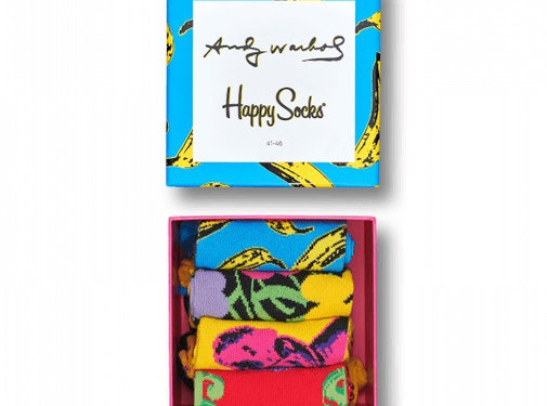 Happy Socks Andy Warhol Sock Box set