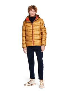 Scotch & Soda Classic hooded down jacket