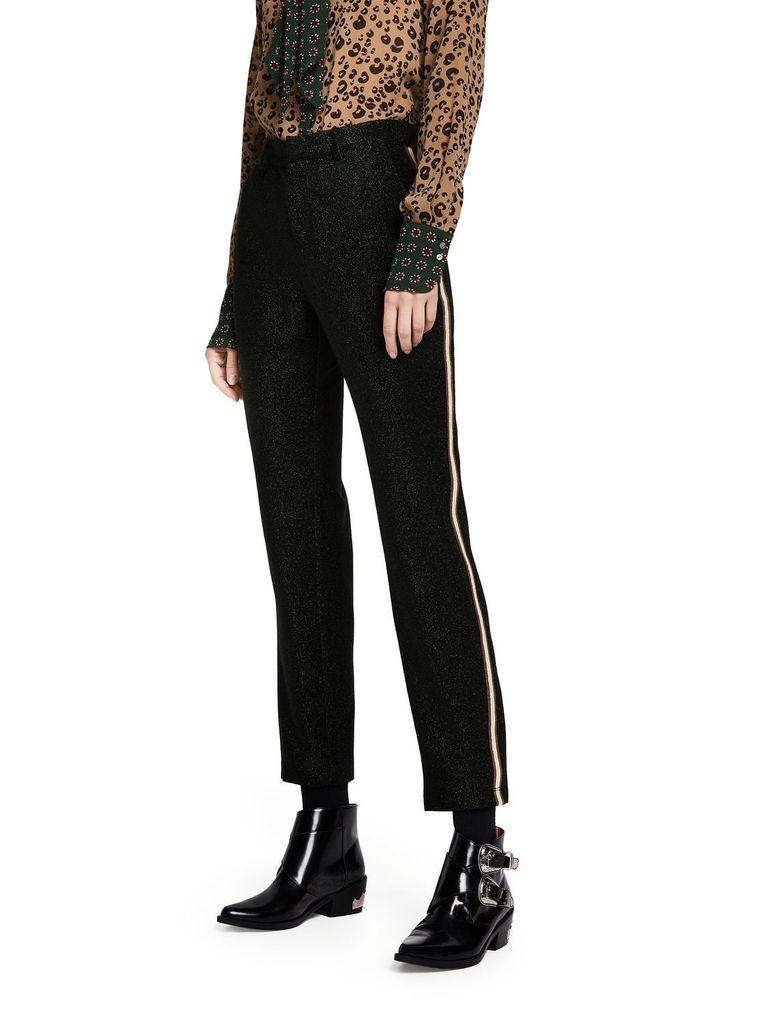 Scotch   Soda Lurex tailored pants with tape detail - bjorkqvist.shop 9ee5ac91ac44f