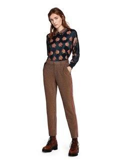 Scotch & Soda Pantalones elásticos con detalles de lúrex