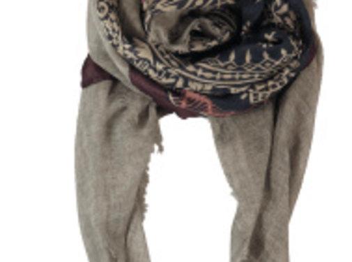Black Colour MEDINA deluxe scarf