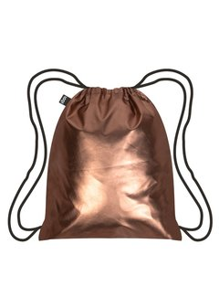 LOQI Backpack Metallic Matt Rose Gold