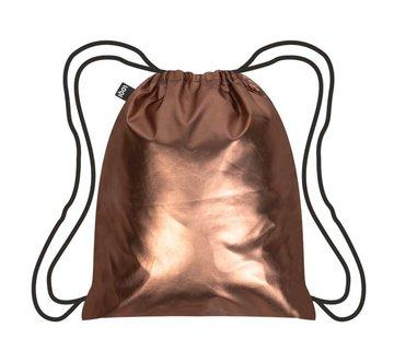 LOQI Backpack Metallic Matt Rose Gold