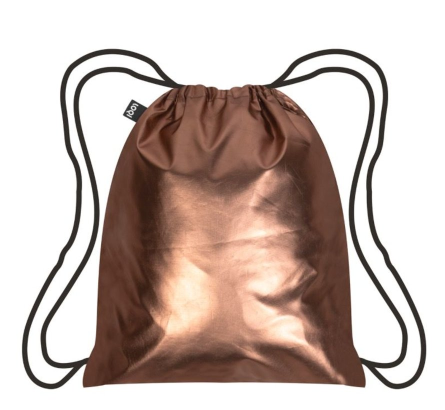 Backpack Metallic Matt Rose Gold
