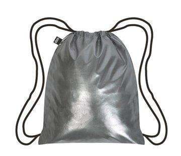LOQI Backpack Metallic Matt Silver