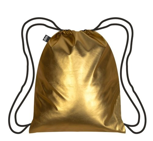 LOQI Backpack Metallic Matt Gold