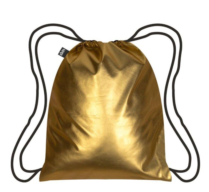 Backpack Metallic Matt Gold