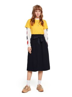 Scotch & Soda Belted High Waist Skirt