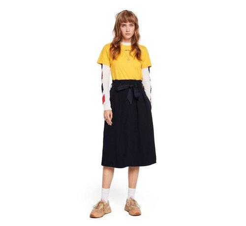 Scotch & Soda Belted High Waist Skirt