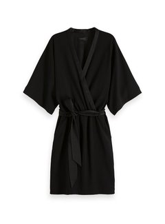 Scotch & Soda Belted Kimono Dress