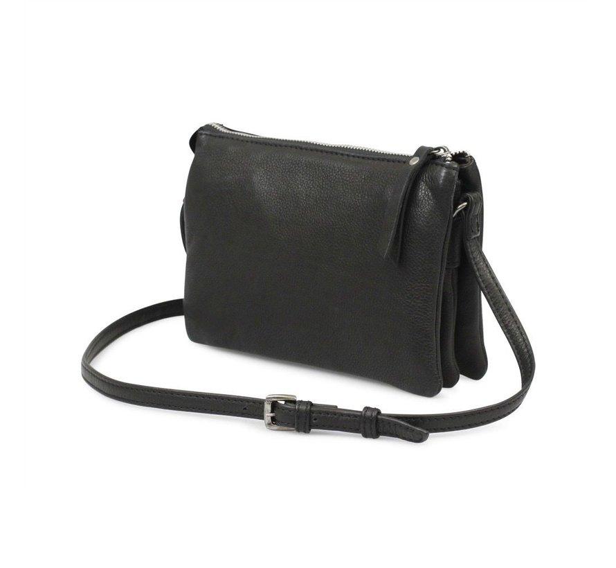 Vera Crossbody Bag, Black
