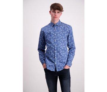 Lindbergh Mid Blue Shirt