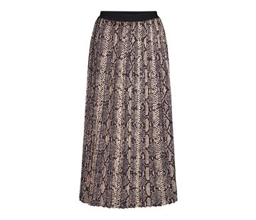 Co'Couture Snake Plisse rok