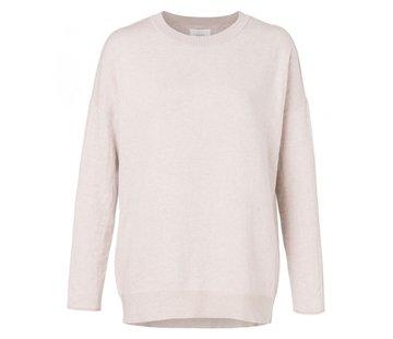 YAYA Classic sweater in silk blend