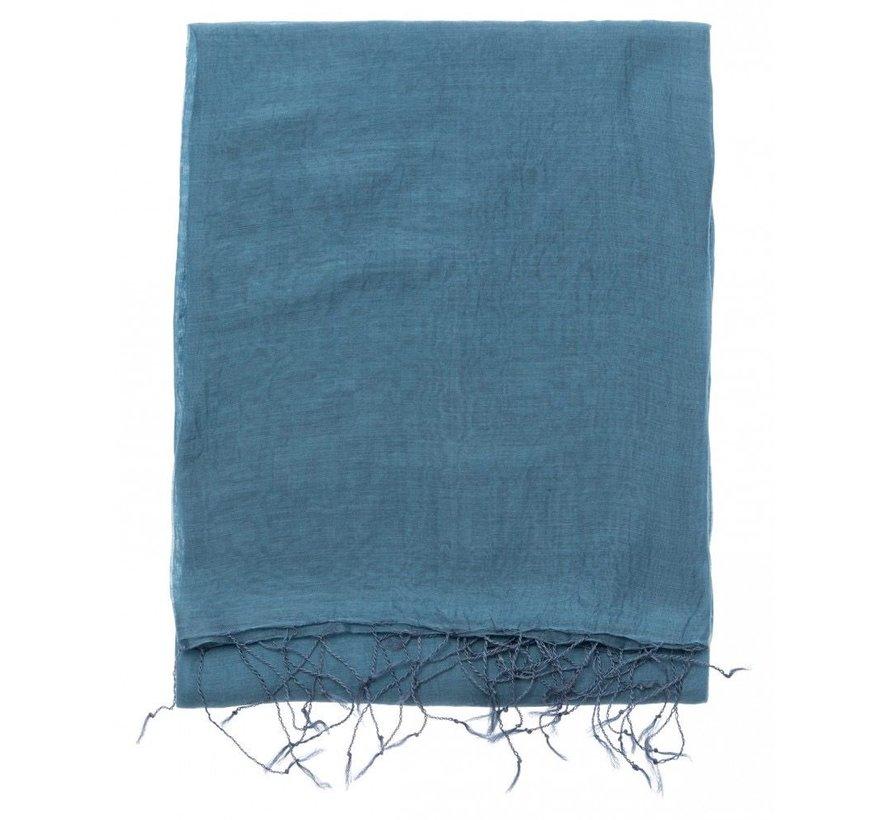 Classic silk blend scarf
