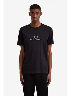 Fred Perry Besticktes T-Shirt