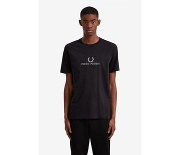 Fred Perry Geborduurde T-Shirt