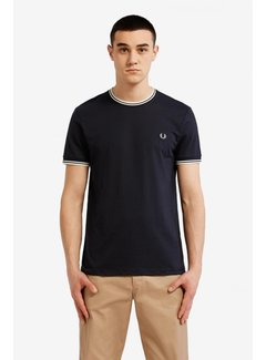 Fred Perry Twin Tipped T-Skjorta