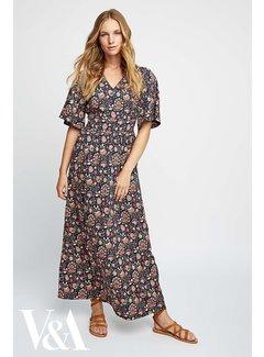 People Tree V&A Yasmin Print Maxi klänning