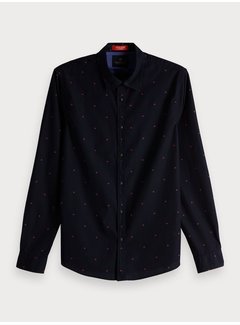 Scotch & Soda All-Over Print Shirt Regular fit