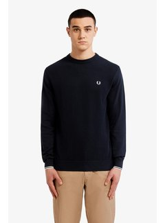 Fred Perry Textured Front Panel Jumper