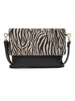 DEPECHE Zebra crossover bag