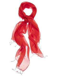 YAYA Classic silk blend scarf