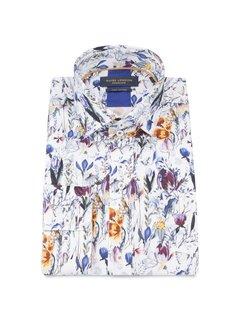 Guide London bomullskjorta med blommönster