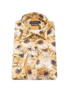 Guide London katoenen hemd met zonnebloem