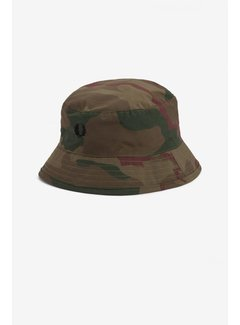 Fred Perry Camo Bush Hat